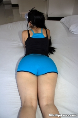 "Andrea In ""Blue Shorts"""